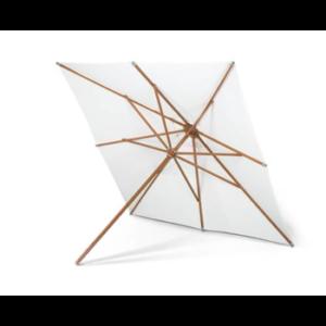 Hvid parasol