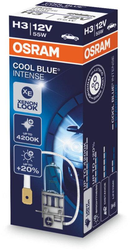 Osram H3 Cool Blue Intense pære (1 stk) Osram Cool Blue Intense