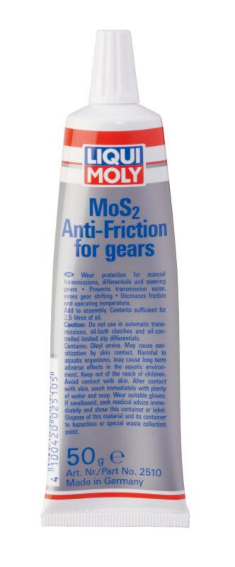 MOS2 Anti-friktion