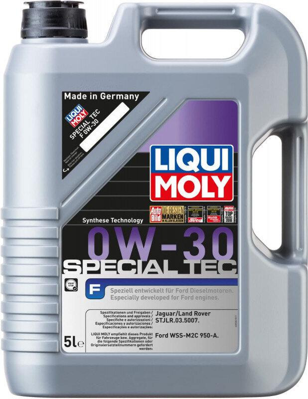 Special Tec F 0w30 motorolie til Ford fra Liqui Moly