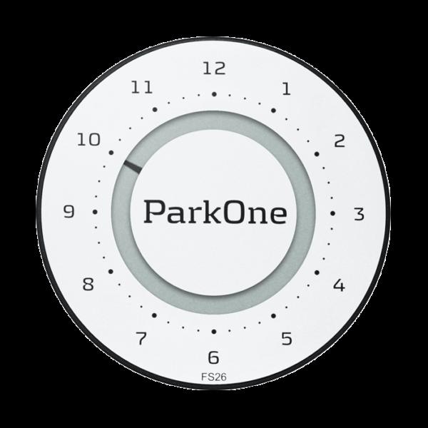 ParkOne 2 Titanium Alpine White Indvendig tilbehør > Parkeringsure