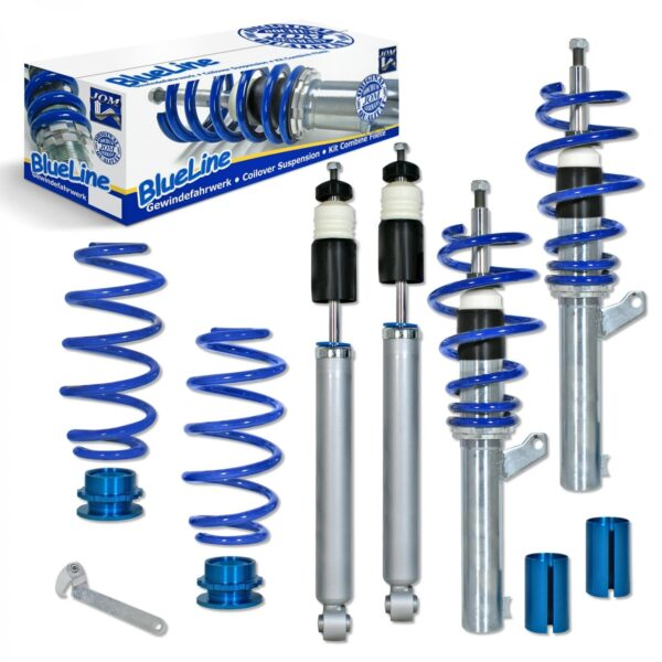 Blue Line - Gevindundervogn til VW Golf V Styling > Gevindundervogn > VW > Golf 5