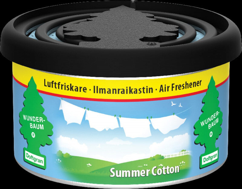 Summer Cotton duftdåse / Fiber Can fra Wunderbaum Wunder-Baum dufte