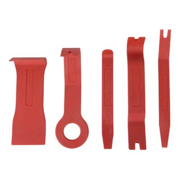 Afmonteringsværktøj - 5 dele Bilstereo