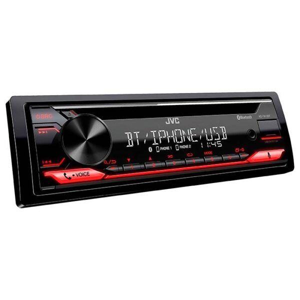JVC autoradio KD-T812BT CD / RDS turner m. Bluetooth Bilstereo