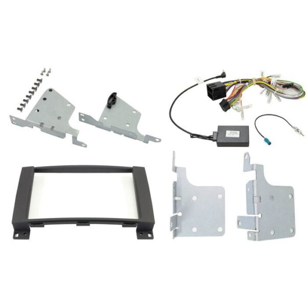 "Alpine 2-DIN 8"" Kit f. Mercedes A/B/Vito/Viano Bilstereo > Monteringssæt"