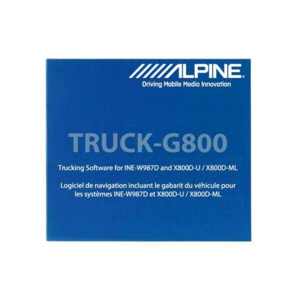 Alpine TRUCK-G800 Truck kort til INEW987D/X800 Bilstereo > Navigation > Universal