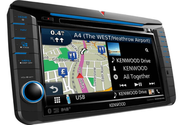 Kenwood KDNX518VDABS Navigation til VW