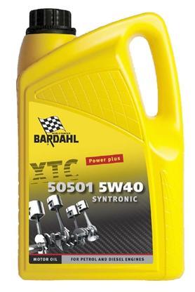 Bardahl Motorolie - XTC 505015 W/40 Syntronic 5 ltr Olie & Kemi > Motorolie