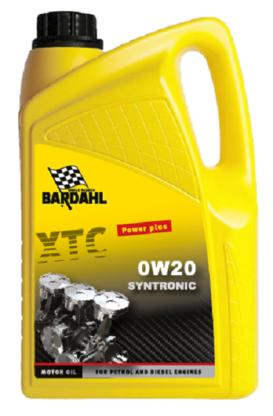 Bardahl Motorolie - XTC 0W20 Syntronic 5 ltr Olie & Kemi > Motorolie