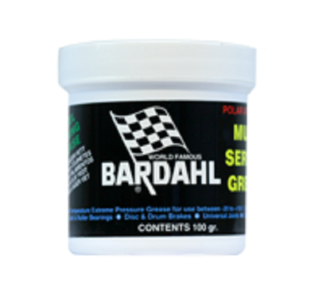 Bardahl Lithium Lejefedt 100 gr. Olie & Kemi > Smøremidler