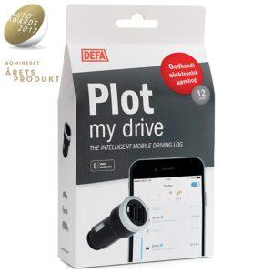 DEFA Plot køretøjs identifikation Indvendig tilbehør > Elektronisk kørebog