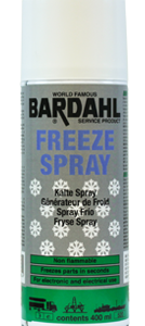 Bardahl Frysespray 400 ml. Olie & Kemi > Pakning