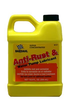 Bardahl Antirust & Vandpumpe Smøremiddel 500 ml. Olie & Kemi > Smøremidler