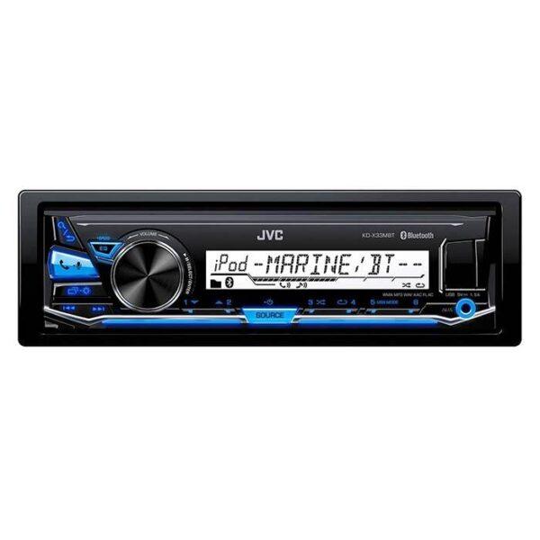 JVC Marine receiver KD-X33MBT med bluetooth Bilstereo > CD / Radio