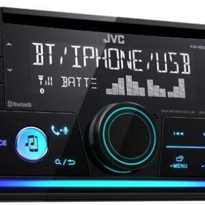 JVC autoradio KWR930BT 2 DIN CD7RDS turner m. Bluetooth Bilstereo