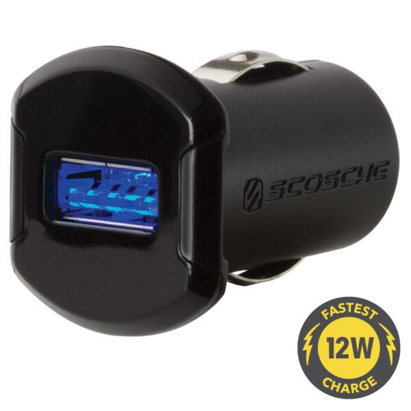 Scosche reVOLT - Enkel USB lader til bil Indvendig tilbehør > Mobil tilbehør