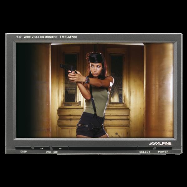 """Alpine TME-M780 7"""" Monitorskærm Bilstereo > Multimedie > Monitorskærme"""