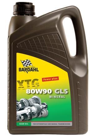 Bardahl Gearolie - XTG 75W90 Synthetic 5 ltr Olie & Kemi > Gearolie