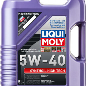 5W40 Motorolie Synthoil High Tech fra Liqui Moly
