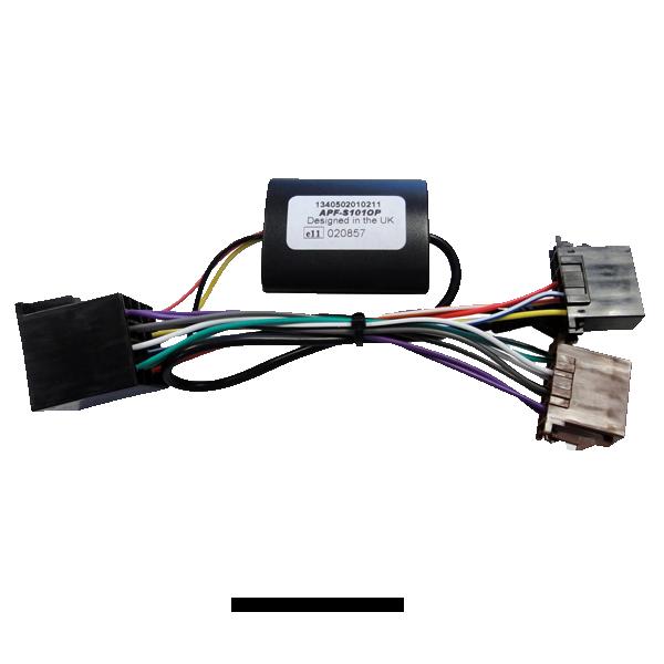 Alpine APF-D102RE Interface Renault med Display Bilstereo > Ratstyring