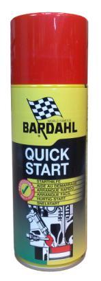 Bardahl Quick Start - Startgas 400 ml. Olie & Kemi > Spray