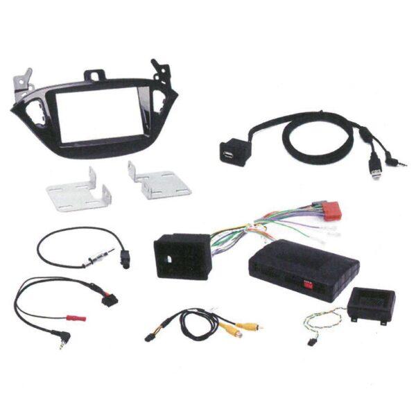 Opel Corsa & Adam komplet installationskit Bilstereo > Navigation > Opel