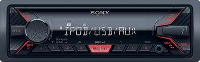 SONY Autoradio DSXA200UI med USB/AUX på front Bilstereo