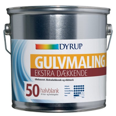 DYRUP Olie Hvid Gulvmaling