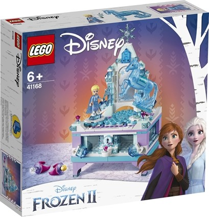 Lego disney princess elsas smykkeskrinsmodel
