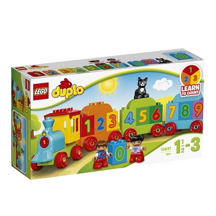 Lego duplo my first tog med tal