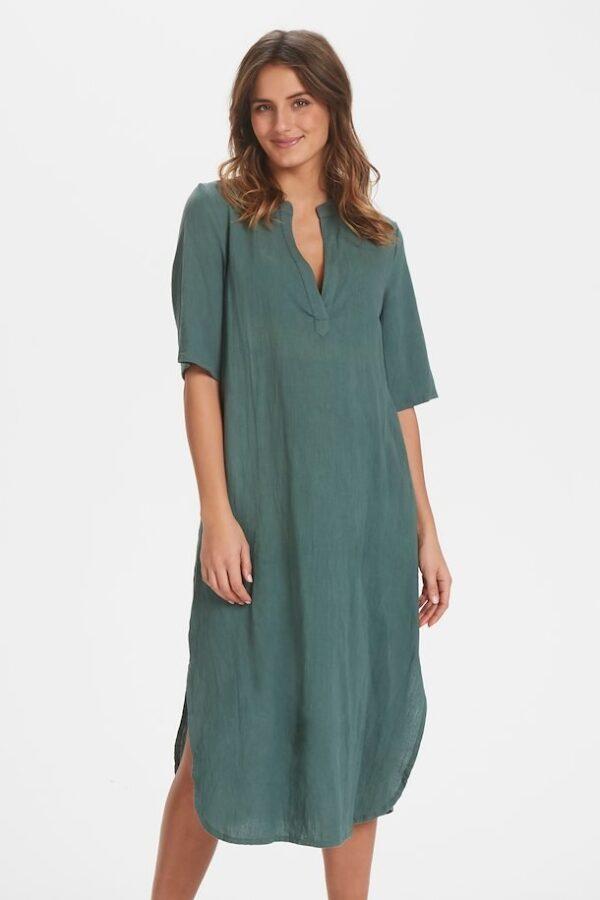 Støvet grøn kjole fra Bonaparte